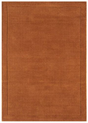 York Terracotta 100% Wool Rug